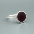 Black Resin Ring