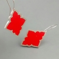 Spicy Morroccan Argentium Silver Earrings