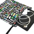 Medium Gadget Bag. Computer Cables, Chargers or Ipad. Ports, Plugs & Sockets