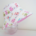 Girls hats in sweet owl pattern