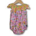 Sunflower fairy Girls seaside Rompers