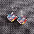 Geo Hearts ~ Earrings