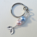 Personalized Pea Pod Key chain- Gift for Mum Grandma Or Dad