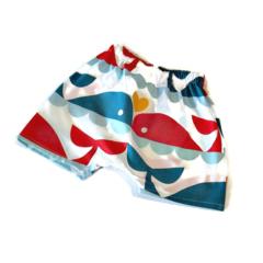 Organic Whale Harem Shorts