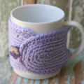 SALE Winter Warmer ~ Lavender  Mug Cosy ~ Ready to post