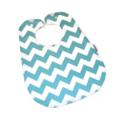 Super Bib BAMBOO *Buy 4 get the 5th FREE Baby Toddler Aqua Chevron