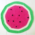 Watermelon Rug- Custom