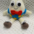 Humpty Dumpty:  Crochet toy, Baby Boy/Girl Gift