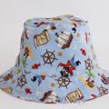 Pirate Bucket Hat. Sizes 6-12 months