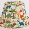 Dinosaur Bucket Hat. Sizes 12-24 months