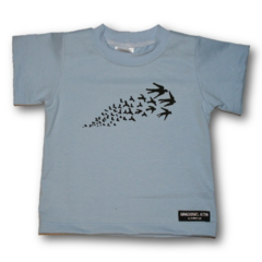 Baby Hand printed Sparrow Tee - FREE POST