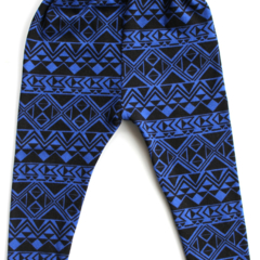 Blue & black arrows baby legging