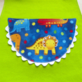 Kids/Toddlers Apron Dinosaur - lined kitchen apron - two pockets