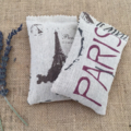 Lavender Sachet, Paris, Lavender, Sachet, Gift.