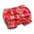 Bloomies - Soft red floral baby bloomers
