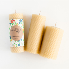 Honeycomb Candle - Made from 100% Australian Beeswax