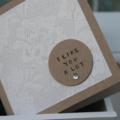 Valentine's Day Card I like you a lot Mini Card Friendship Card BFF Bestie Card