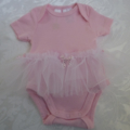 "New Born ""Pretty Ballerina"" Onesie"