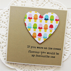 Love Card, My favourite One, Valentine's Day Card, Anniversary Card