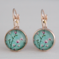 Magnolia Rose Gold Earrings