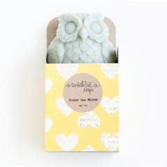 Lavender Owl Soap - Natural, Handmade, Cold Processed, Vegan