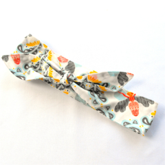 Knot Hair Wrap- Bumblebees