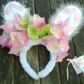 """"""" Easter Bunny Ears Crown """"      ..Hippoty Hop.."""