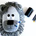 Custom listing for Karen - Sock Lion Pincushion