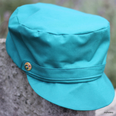 Ladies Teal Cap Size M 56cm - 58cm Ready to post!