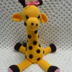 Giraffe Toy, Girl Gift, Animal Softie