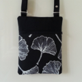 Cross Body/Shoulder Bag in black and white