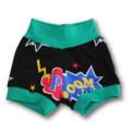Baby Pow Superhero Banded Shorties (SIZE 000-0)