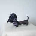 Dachshund Wool Felt Toy Stuffed