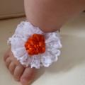"""Size 6 - 12 months- """"Vintage Bouquet"""" Dress, Pants and Shoes"""