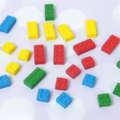36 Edible Lego Blocks Cake/Cupcake Decorations