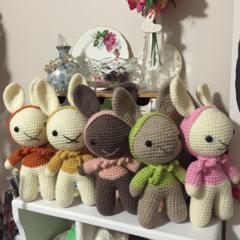 Hooded Crochet Bunny