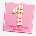 Any Age Custom Birthday card children kids custom ice cream 1 2 3 4 5 6 7 8 9 10