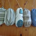 PLASTIC BAG HOLDERS elasticated & draw string