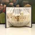 Folded Book Sculpture - personalised