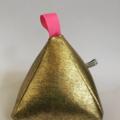 Pyramid Doorstop 'Gold' Metallic Foil Door Stop