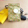 Vintage floral pattern Tea Wallet with coffee pocket - holds 4 teas