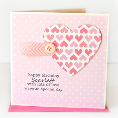 Personalised Birthday card | Custom Made | For Her Mum Sister Daughter Friend