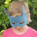 Blue Bunny Felt Mask