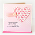 Handmade Birthday Card, Personalised Birthday Card For Her, Mum Card