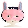 Pink Bunny Felt Mask