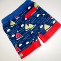 Little Sailor Board Shorts and Singlet Set
