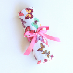 Pencil Roll - Butterflies