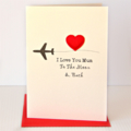 Love You To The Moon & Back | Personalised Card | For Her For Him