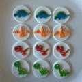 Dinosaur Theme Edible Cupcake Toppers
