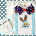 Easter Bunny Boys Onesie Baby Boy First Easter Bodysuit All Sizes and Styles